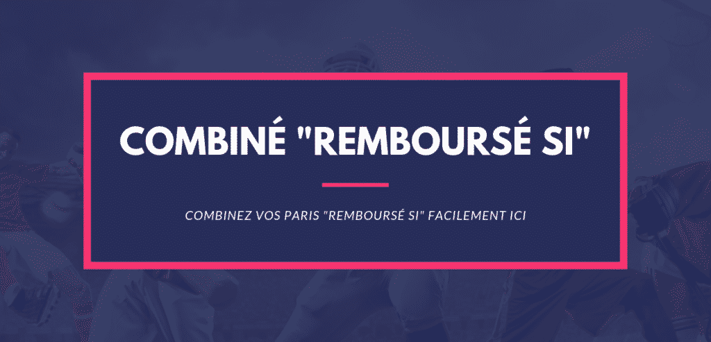 calcul paris sportifs combiné remboursé si draw no bet home no bet away no bet