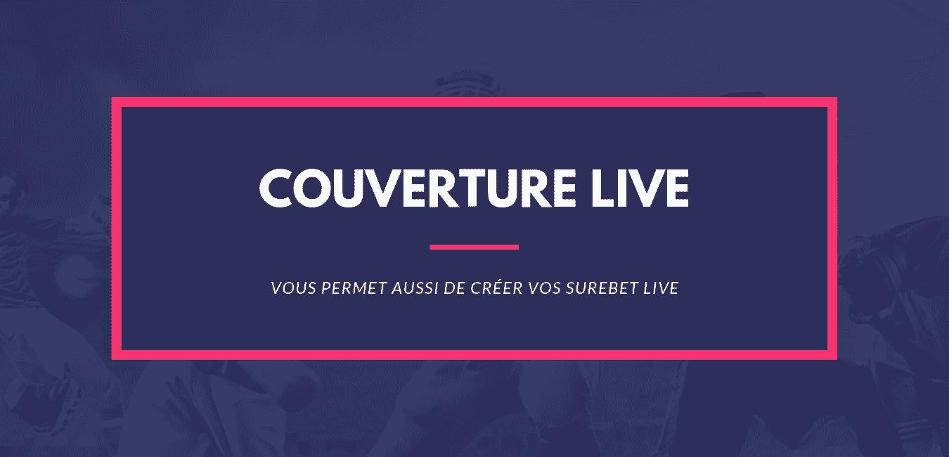 Calcul Paris Sportifs couverture live et surebet