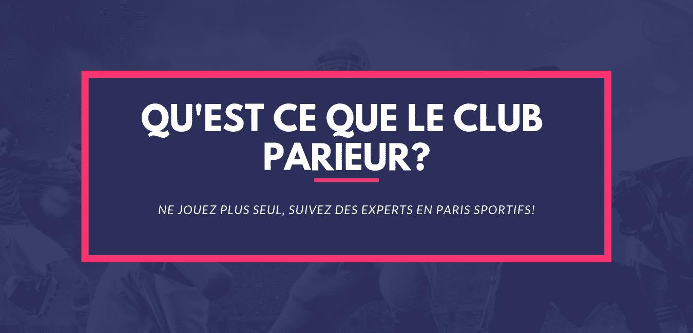 site de pronostic paris sportifs Qu'est ce que le club tipster tipster pronostics
