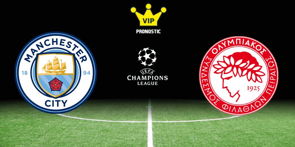 Pronostic Manchester City - Olympiakos