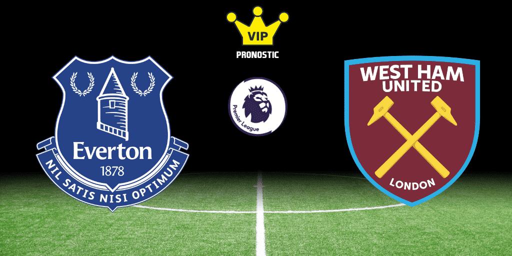 Pronostic Everton West Ham United