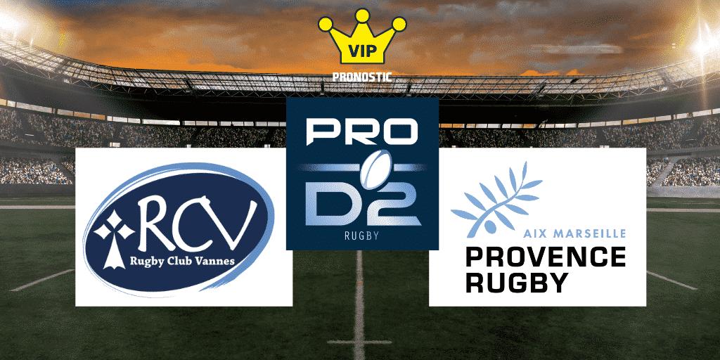 Pronostic Vannes Provence Rugby Pro D2
