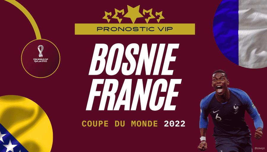 Pronostic Bosnie France 31_03_2021