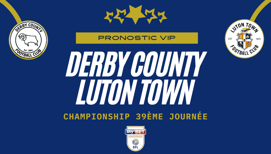 pronostic derby county luton town