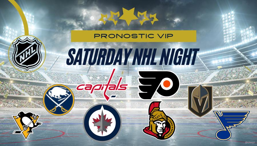 Saturday night NHL