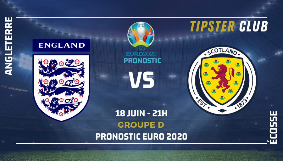 Pronostic Angleterre – Ecosse – 18/06/21 – Euro 2020