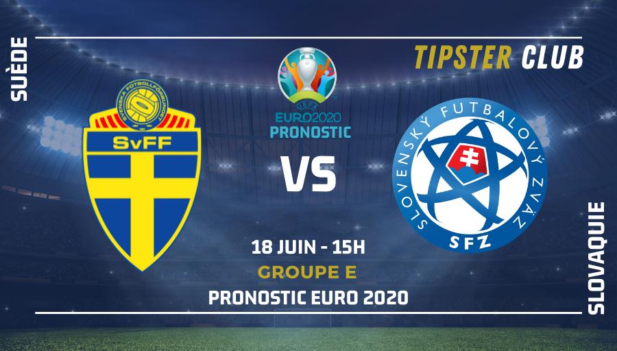 Pronostic Suède – Slovaquie – 18/06/21 – Euro 2020