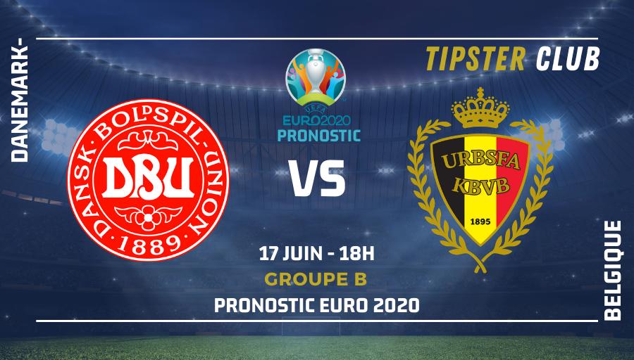 Pronostic Danemark – Belgique – 17/06/21 – Euro 2020