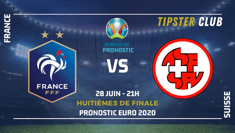 Pronostic France - Suisse – Euro 2020 – 280621