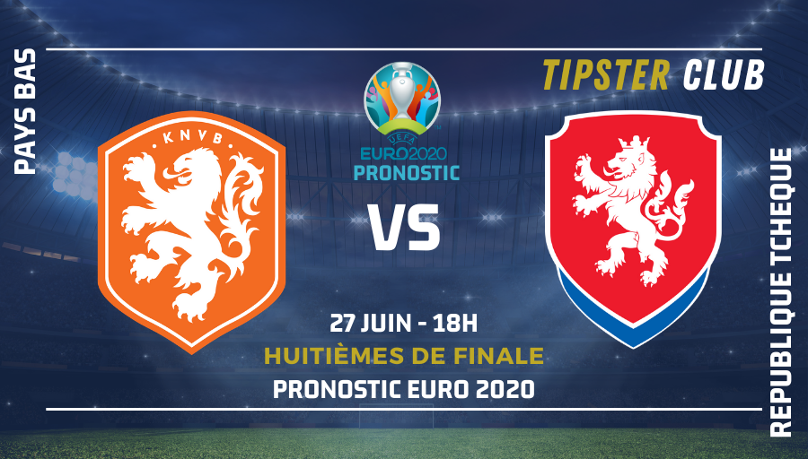 Pronostic Pays Bas – République Tchèque – Euro 2020 – 27/06/21