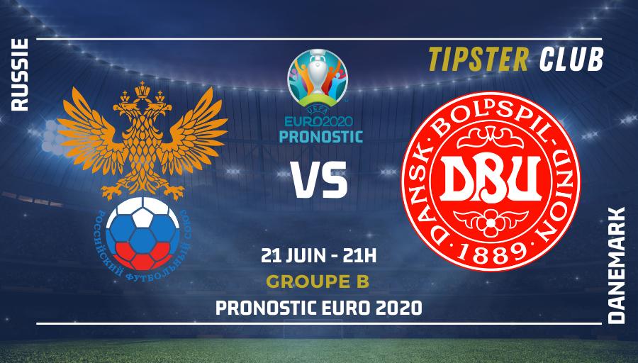 Pronostic Russie – Danemark – 21/06/21 – Euro 2020