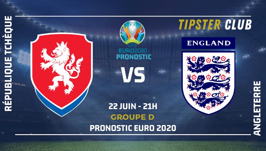 Pronostic République Tchèque – Angleterre | Euro 2020 | 22/06/2021
