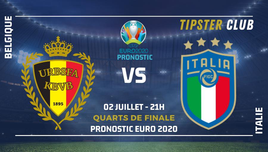 Pronostic Belgique Italie – Euro 2020 – 020721