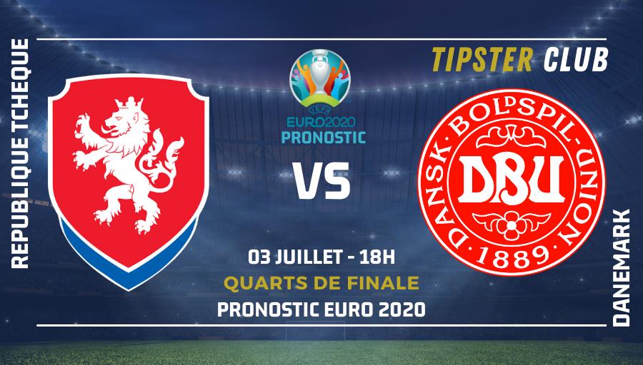 Pronostic République Tchèque – Danemark – 03/07/2021 – Euro 2020