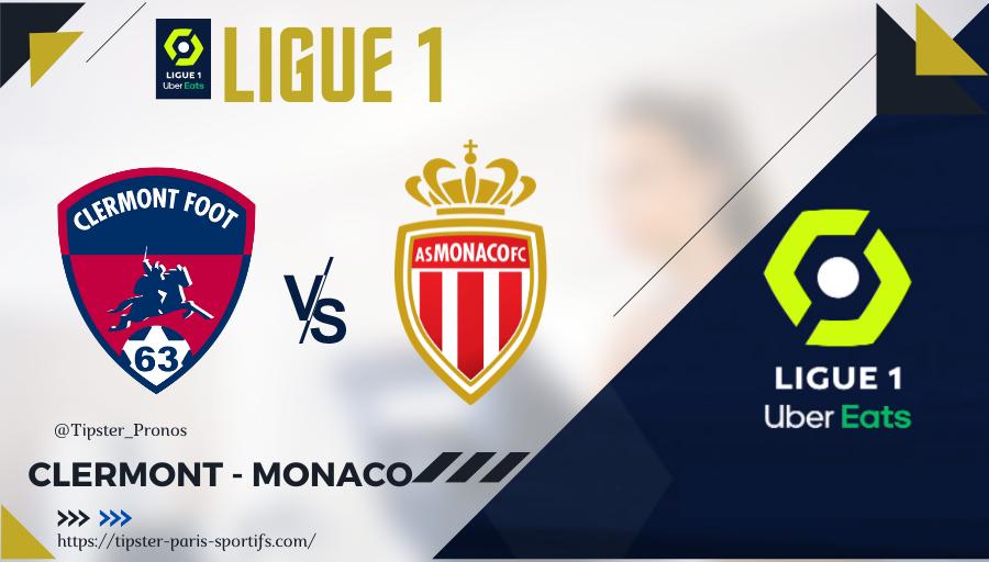 Pronostic Clermont – Monaco – Ligue 1 – 26/09/21