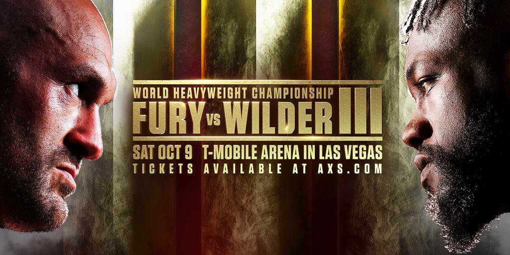 Pronostic Tyson Fury vs Deontay Wilder 3